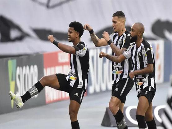 Botafogo vence mais uma na B e consolida G4