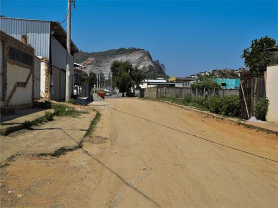 Rua no bairro Jardim Itapemirim, em Cachoeiro, recebe asfaltamento na sexta-feira (17)