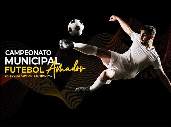 Começam as disputas da 1ª rodada do Campeonato de Futebol Amador