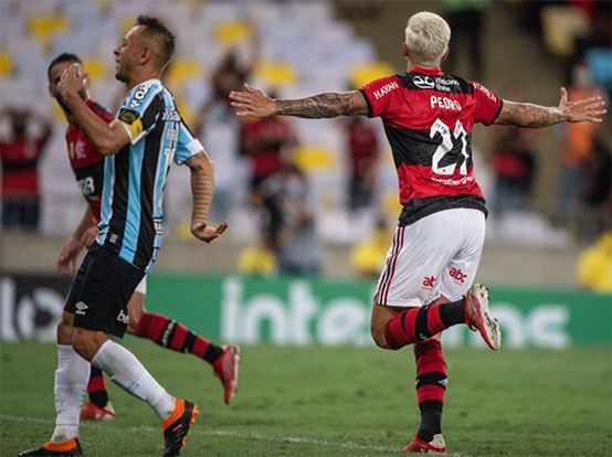 Em jogo protocolar, Flamengo despacha Grêmio e avança na Copa do Brasil