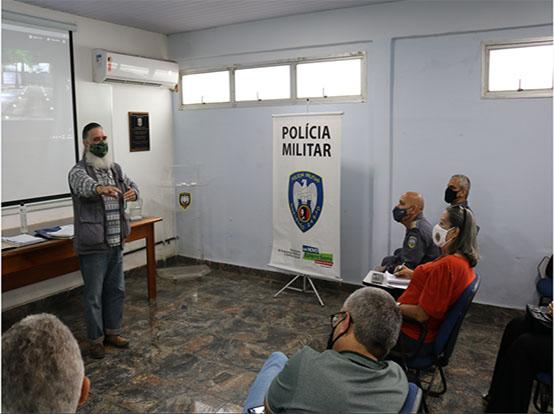 PM participa de reunião da Repas em Guarapari